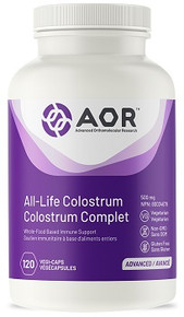 AOR All-Life Colostrum (Lactose Free) 120vcaps