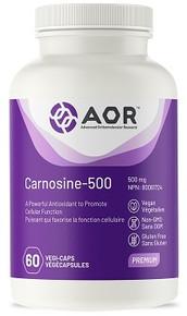 AOR Carnosine 500 500mg 60vcaps