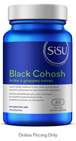 Sisu Black Cohosh 150mg 60caps