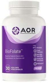 AOR Bio-Folate 1mg 30caps