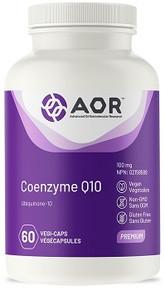 AOR Coenzyme Q10 100mg 60caps