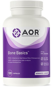 AOR Bone Basics 399mg 120caps