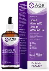 AOR Vitamin D3 Adult 1000IU 100ml