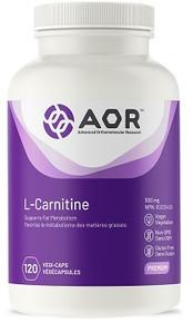 AOR L-Carnitine 500mg 120caps