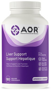 AOR Liver Support 517mg 180caps