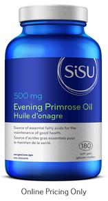 Sisu Evening Primrose Oil 500mg 180vcap