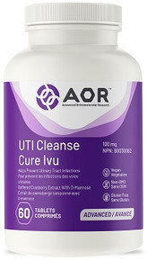AOR UTI CLEANSE WITH CRANBERRY 100mg 60tab
