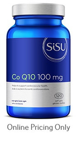 Sisu Co Q10 100mg 100caps