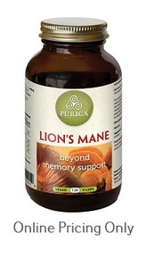 PURICA LION`S MANE 120vcaps