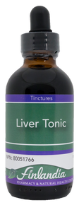 Finlandia Liver Tonic Herbal Formula 50ml