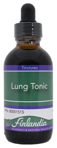 Finlandia Lung Tonic Herbal Formula 50ml