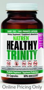 Natren Healthy Trinity 30caps