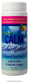 Natural Calm Magnesium Citrate Raspberry 226g
