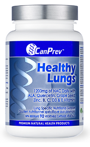 CanPrev Healthy Lungs 90vcaps