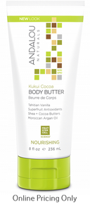 Andalou Naturals Kukui Cocoa Body Lotion 236ml