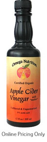 Omega Nutrition Apple Cider Vinegar 355ml