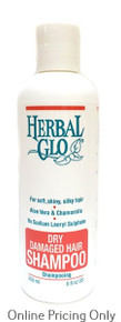 Herbal Glo Dry Damaged Hair Shampoo 250ml