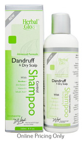 Herbal Glo Dandruff Dry Scalp Shampoo 250ml
