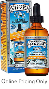 SOVEREIGN SILVER HYDROSOL DROPPER 236ml