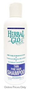 Herbal Glo Thin Fine Hair Shampoo 250ml