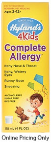 Hylands Complete Allergy for Kids 118ml