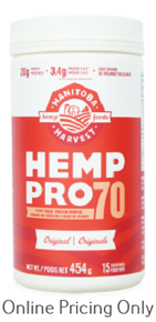 Manitoba Harvest Hemp Pro 70 Protein 454g