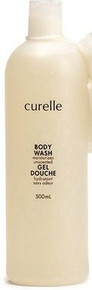 Curelle Body Wash Unscented 500ml
