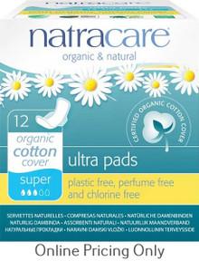 Natra Care Natural Pads Super 12pcs