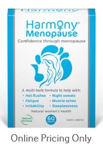 MARTIN AND PLEASANCE HARMONY MENOPAUSE 60tabs