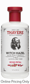Thayers Rose Witch Hazel with Aloe Astringent 355ml