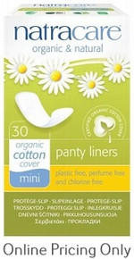NATRA CARE PANTY LINERS BREATHABLE 30pcs