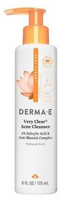Derma E Very Clear Problem Skin and Acne Cleanser 175ml
