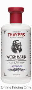 Thayers Alcohol Free Lavender Witch Hazel Toner 355ml