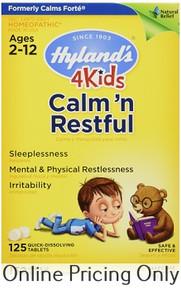 Hylands Calms Forte for Kids 125tabs