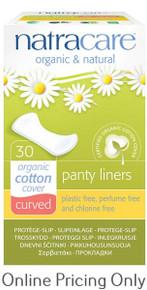 Natra Care Panty Shields Curved 30pcs