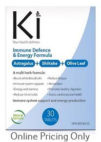 Martin & Pleasance Ki Immune Defense & Energy 30s