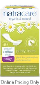 NATRA CARE PANTY LINERS THONG TANGA 30pcs