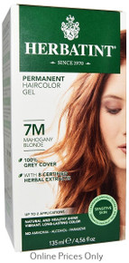 Herbatint Permanent Herbal Haircolour Gel With Aloe Vera 7M 135ml