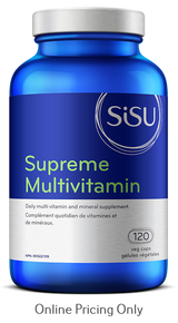 Sisu Supreme Multi with Iron 120vcaps