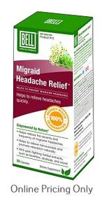 Bell Migraid Headache Relief 30caps