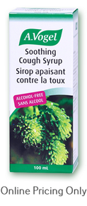A Vogel Soothing Cough Syrup 100ml