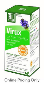 BELL VIRUX VIRAL INFECTIONS 60caps