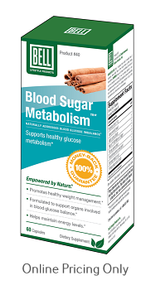 Bell Blood Sugar Metabolism 60caps