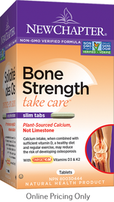 NEW CHAPTER BONE STRENGTH TAKE CARE 60tab