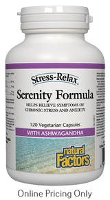 Natural Factors Serenity Formula 120vcaps