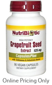 Nutribiotic GSE Plus 125mg 90vcaps
