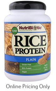 Nutribiotic Rice Protein Original 600g