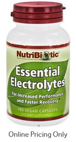 Nutribiotic Essential Electrolyte 100cap