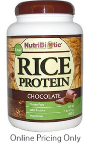 Nutribiotic Rice Protein Chocolate 596g