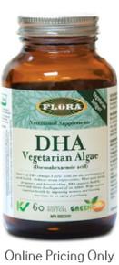 Flora DHA Vegetarian Algae 60vcaps